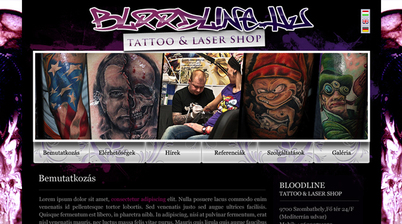 Bloodline Tattoo, Szombathely